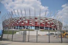 National stadium in Warsaw Royalty Free Stock Photo