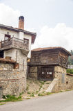 National stone and wooden architecture of Koprivshtitsa, Bulgaria Royalty Free Stock Images