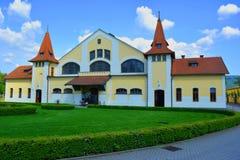 National Stud Farm, Topolcianky, Slovakia. National center for the breeding and cultivation of horses in Slovakia stock photo