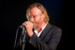 The National with Sufjan Stevens (band) live music show at Bime Festival Royalty Free Stock Image