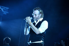 The National with Sufjan Stevens (band) live music show at Bime Festival Stock Photos