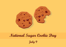 National Sugar Cookie Day vector Stock Photo
