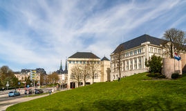 National Supreme Court in Luxembourg Royalty Free Stock Photography