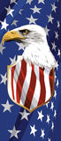The national symbol of the USA Royalty Free Stock Images