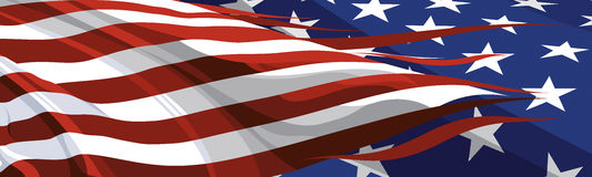 The national symbol of the USA. The national symbol of the United States of America Stock Photo