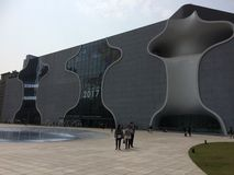 National Taichung Theatre.  Stock Images