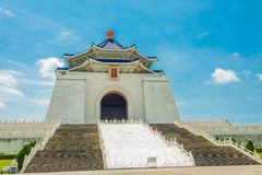 National Taiwan Democracy Memorial Hall. Chiang Kai-shek in Taipei stock photography