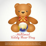 National Teddy Bear Day Royalty Free Stock Photography