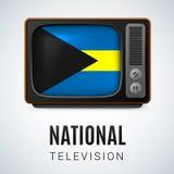 National Television Bahamas Stock Image