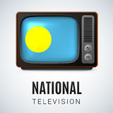 National Television Palau Stock Photos
