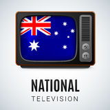 National Television Stock Photo