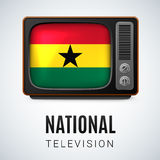 National Television Royalty Free Stock Images