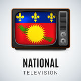 National television Stock Image
