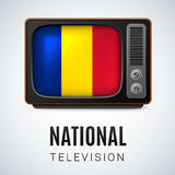 National Television Royalty Free Stock Image