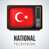 National Television Royalty Free Stock Photography