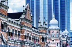 National Textile Museum and Sultan Abdul Samad buildings Kuala Lumpur Malaysia stock photos