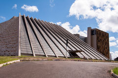 National Theater of Brazil in Brasilia Royalty Free Stock Photo