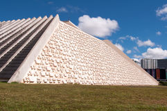 National Theater of Brazil in Brasilia Stock Photos