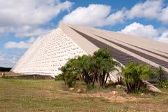 National Theater of Brazil in Brasilia Stock Photography