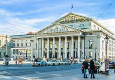 National Theater building in Munich, Germany Royalty Free Stock Photo