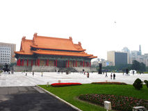 National Theater Chiang Kai-Shek Memorial Taiwan Royalty Free Stock Photo