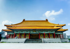 National Theater Chiang Kai-Shek Memorial Taiwan. November 11, 2014 Royalty Free Stock Photos