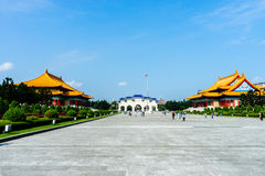 National Theater Chiang Kai-Shek Memorial Taiwan. November 11, 2014 Royalty Free Stock Images