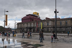 The National Theater of Costa Rica in San Jose Royalty Free Stock Photo