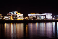 National Theater of Hungary Royalty Free Stock Photo