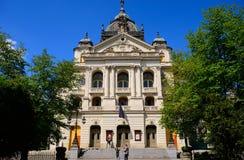 National theater, Kosice, Slovakia Royalty Free Stock Image