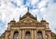 National Theater in Kosice, Slovakia. Stock Image
