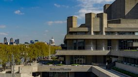 National Theater - London royalty free stock images