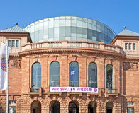 National Theater of Mainz Royalty Free Stock Photo