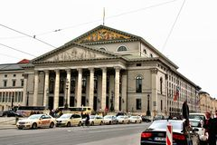 The national theater Stock Photography