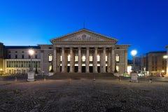 The National Theater of Munich, Located at Max-Joseph-Platz Squa Stock Photo