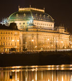 National theater at night Stock Photo