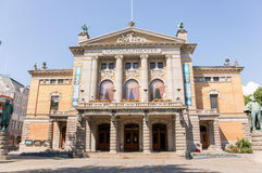 The National Theater of Norway Royalty Free Stock Photography