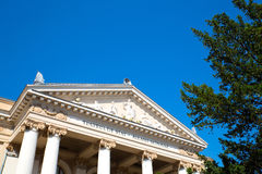 The national Theater in Oradea Royalty Free Stock Images