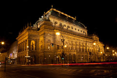 National Theater, Prague Stock Images