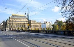National theater from Prague Royalty Free Stock Photo