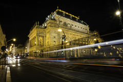 National Theater in Prague. The historic National Theater in Prague, Czech Republic Stock Photo