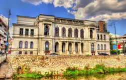 National theater in Sarajevo Stock Images
