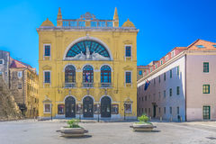 National Theater in Split, Croatia. Stock Image