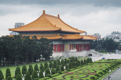 National Theater (Taipei, Taiwan.). Libery Square with Chiang Kai-shek Memorial, National Theater (Taipei, Taiwan royalty free stock image