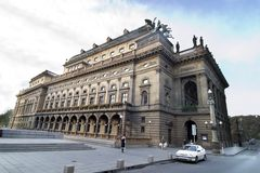 National Theatre. That National Theatre in Prague, Czech Republic Stock Image