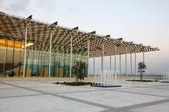 National Theatre of Bahrain in Manama Stock Photos