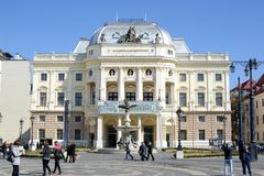 National theatre, Bratislava Royalty Free Stock Image
