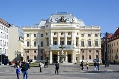 National theatre, Bratislava Royalty Free Stock Photography