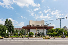National Theatre Of Bucharest Royalty Free Stock Photography