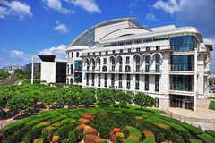 National theatre building in Budapest, Hungary Stock Images